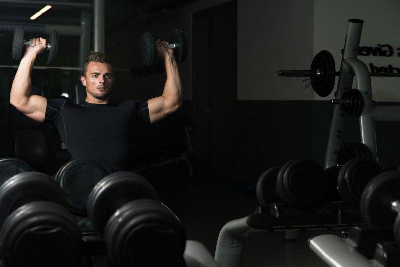 48 shoulder blasting routine shoulder press