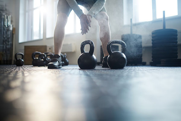 Best Home Execirse Equipment: Kettlebell Figure Eight Exercise