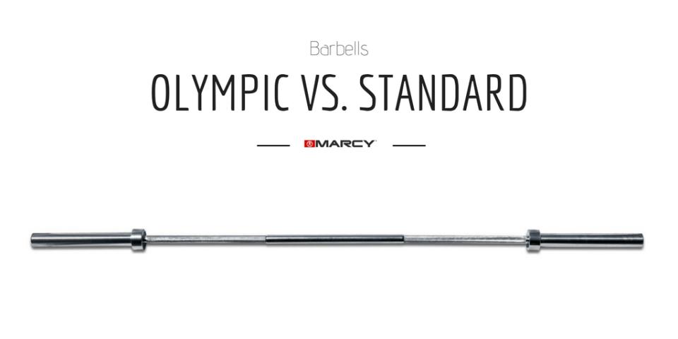 Olympic Barbell vs. Standard (1)