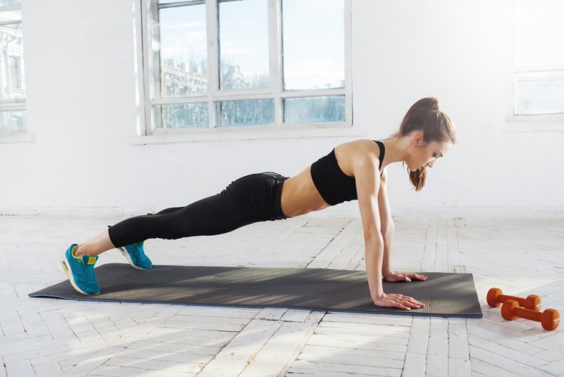 home gym workouts - push ups