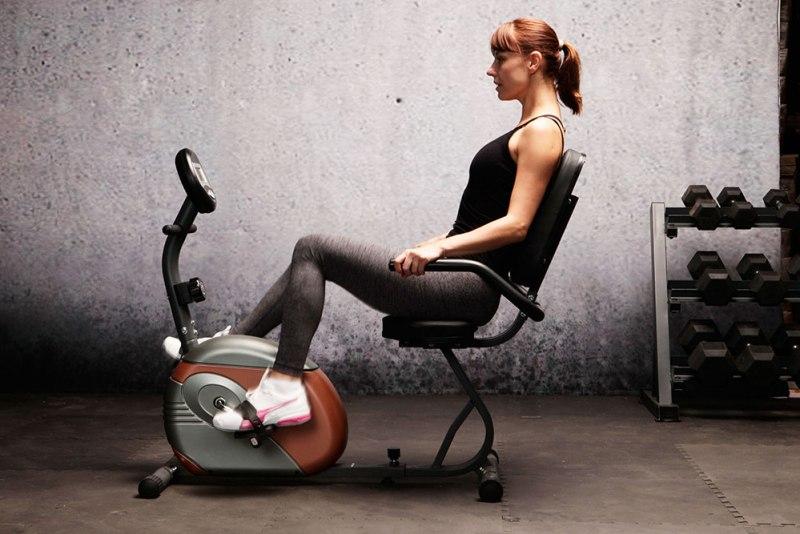 ME-709 Recumbent Bike great for rehabilitation - female model