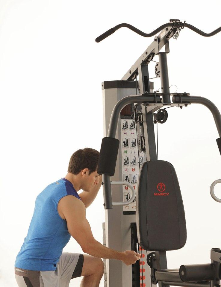 Stack-Home-Gym-Adjusting-Stack