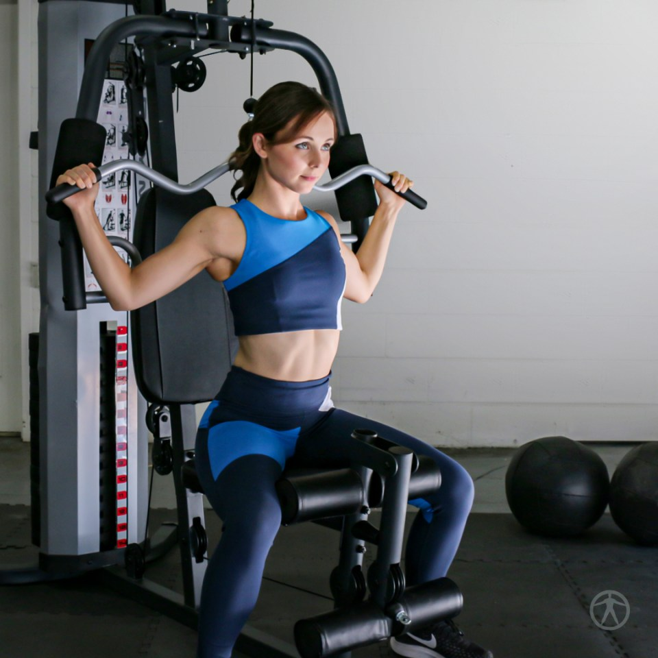 MWM-988 Lat Pull Downs in Use by Model