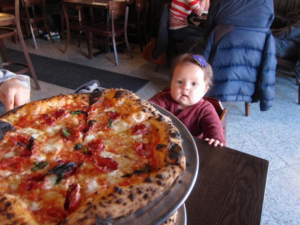 Margot at Tufino Pizza