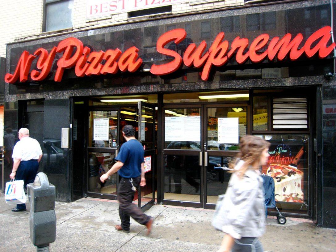 NY Pizza Suprema exterior