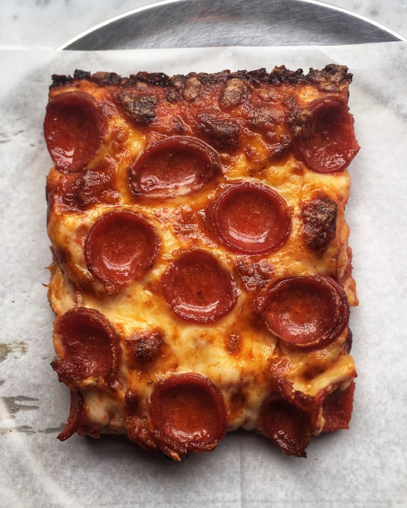 Mama's Too Square Slice with Pepperoni