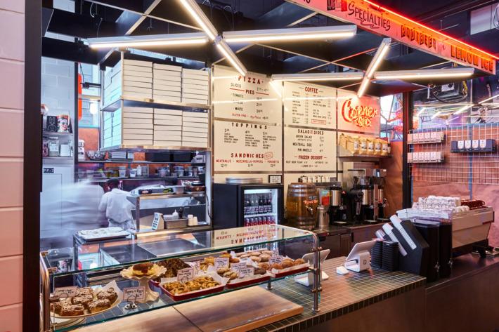 Corner Slice at Gotham Market
