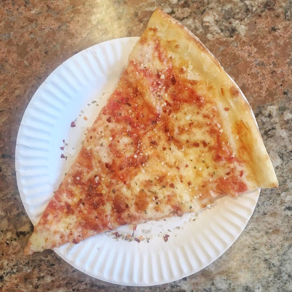 Sacco Pizza Plain Slice