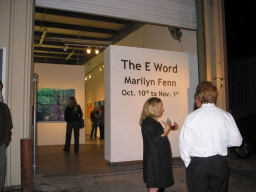 Opening Reception for the The E Word