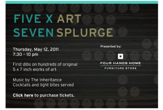 2011 5x7 Art Splurge