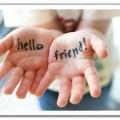 fare amicizia
