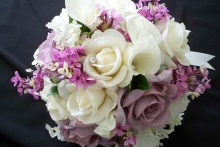 bridal bouquet etsy