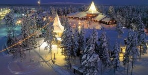 Il paese di Babbo Natale, Rovaniemi