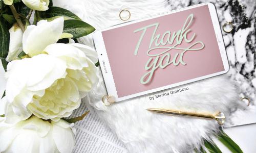 Blog di Marina Galatioto grazie
