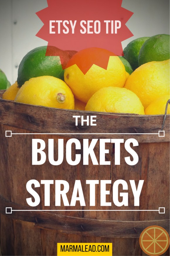 Etsy SEO Tip! How to maximize your best tags with the Buckets Strategy!
