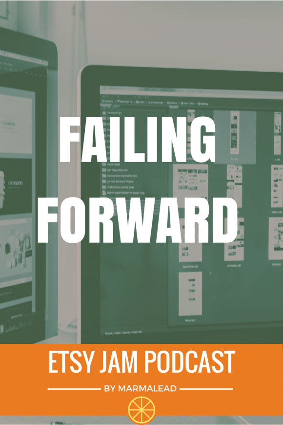 It's okay to fail as long as you're not trying to fail. You're trying to win.