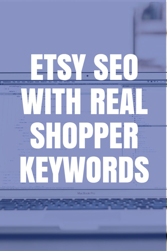 Etsy SEO with real shopper keywords