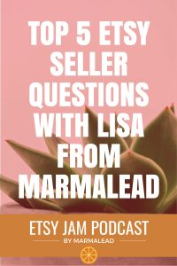 Top 5 Etsy seller questions