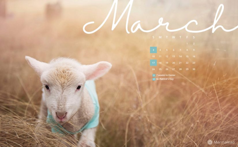 March 2019 Free Desktop/Wallpaper