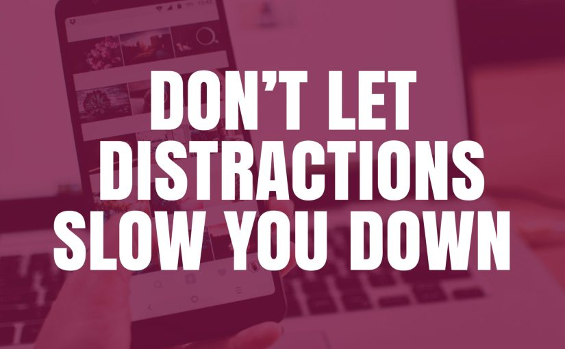 Don't let distractions slow you down with Marmalead