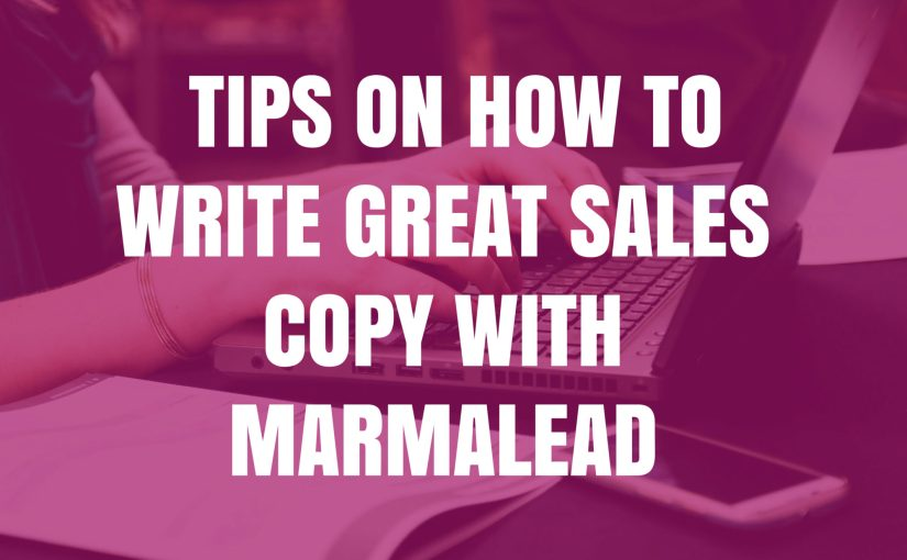 Tips On How To Write Sales Copy