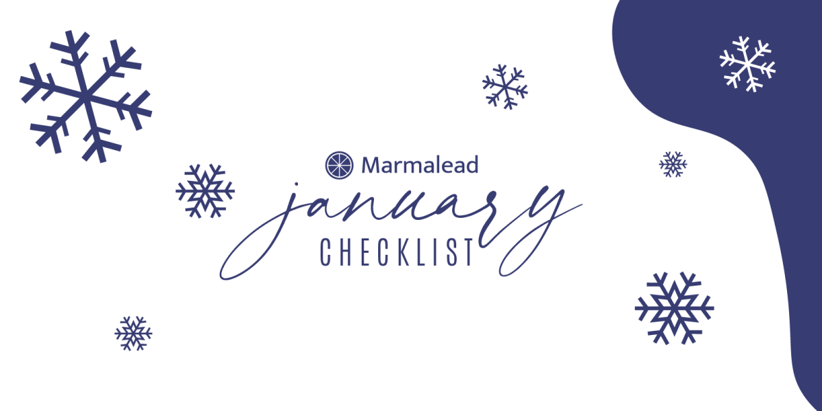 January Etsy shop checklist