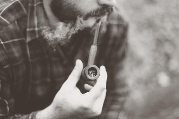 top Etsy searches - man smoking pipe