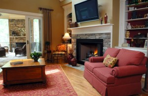 Visit Open House Stay Warm With A Fireplace In Your New Home