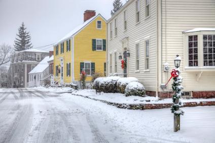 winter in Erie PA cabin fever
