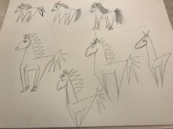 Horse sketches page 2