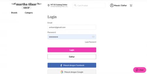 Cara Belanja Online di Website Martha Tilaar Shop