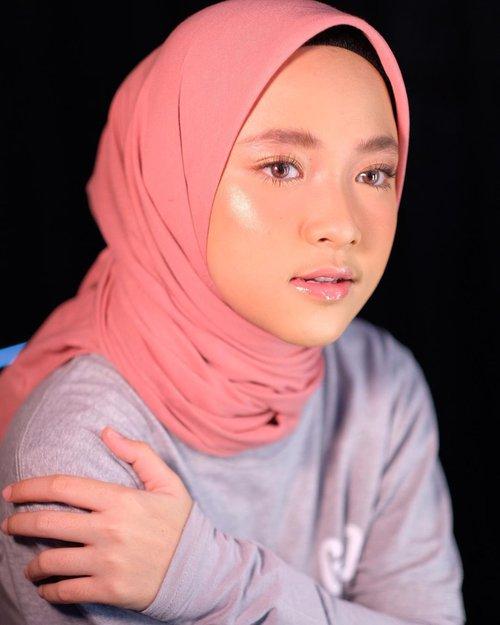 Makeup-Lebaran-Nissa-Sabyan-Pinkish-Look