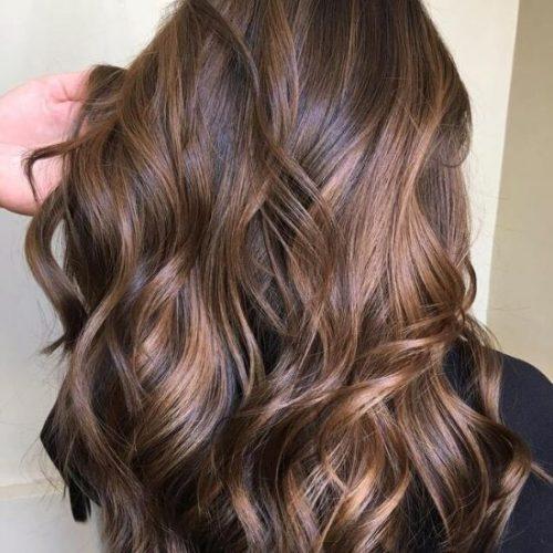 Highlight rambut soft chocolate