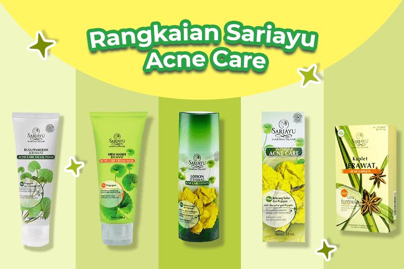 Rangkaian Sariayu Acne Care