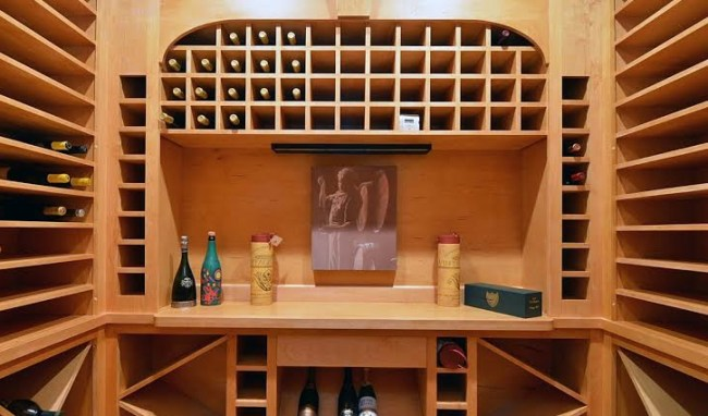 Wine Cellar at 1308 Enderbury Drive, Raleigh NC