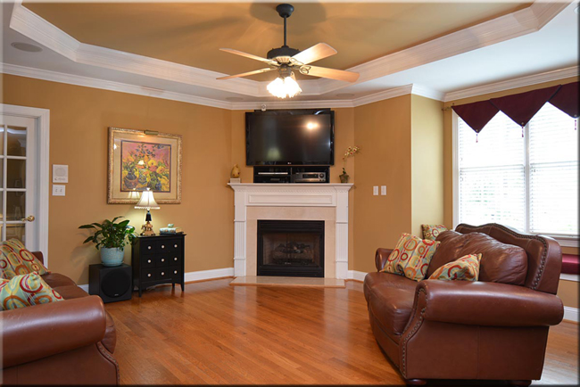Sit and enjoy this living space!