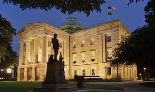 State Capitol of Raleigh, North Carolina