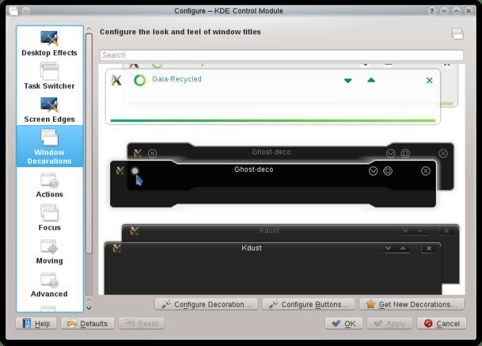 Interactive decoration control module