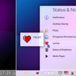 QSystemTrayIcon as xembed in Plasma Current and status notifier in Plasma Next