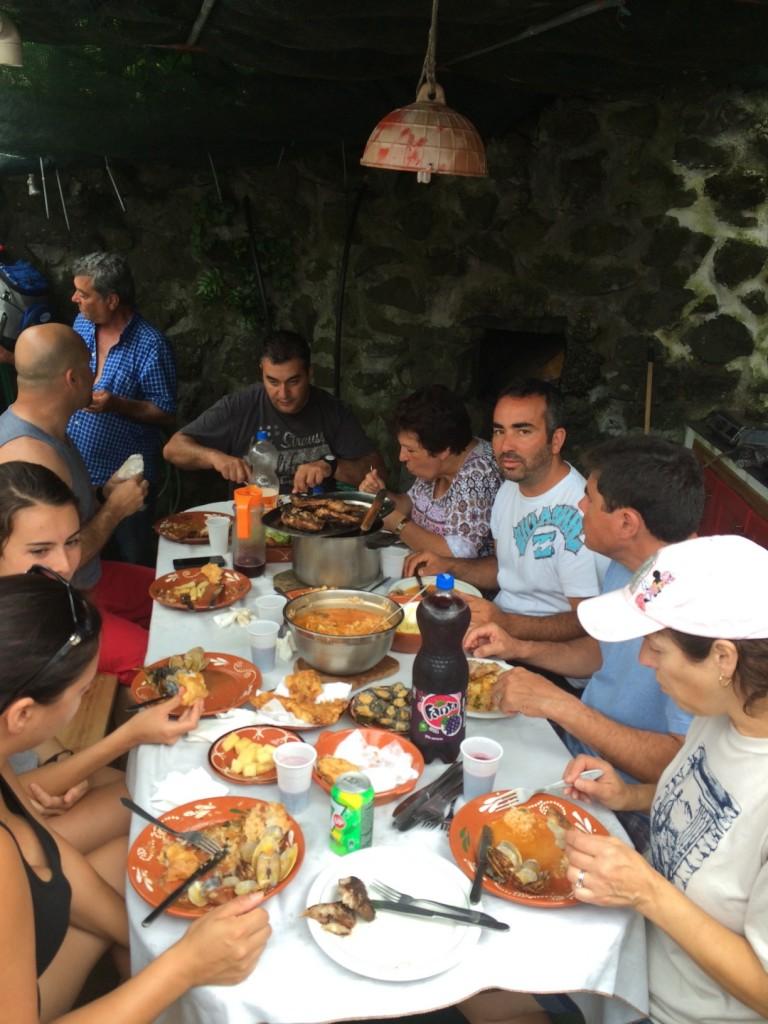 Family dinner, Azores