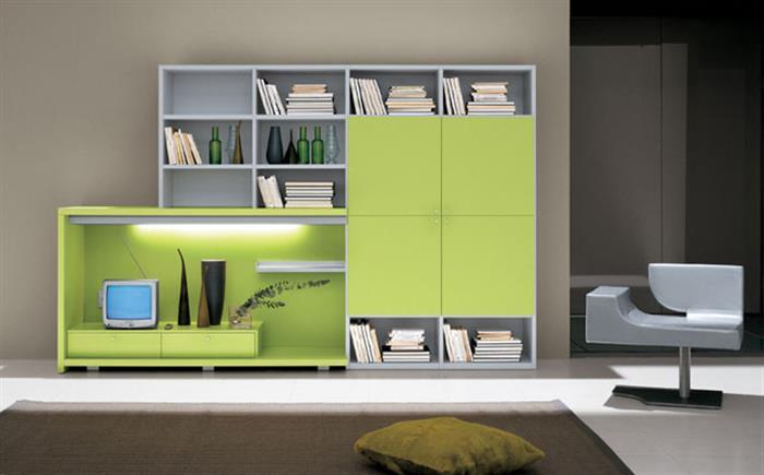 Es moderno y claro, combinamos con gris nuestro verde musgo, casi pistacho para modernizar una estancia