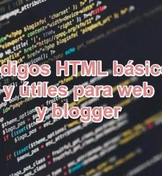 Ve ⭐ CÓDIGOS HTML básicos y útiles para sitios WEB o BLOGGER ✅, además, te daremos una LISTA EXTENSA ⭐ de códigos para decorar tu web.