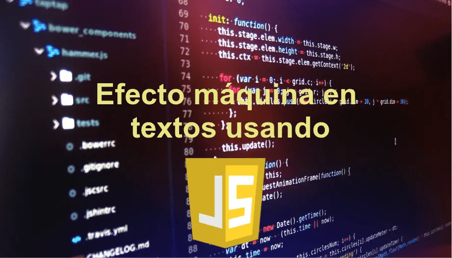 ▷ How to make the machine effect in a text using JavaScript?