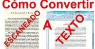 Convertir de imagen con texto a texto digital (formato OCR).