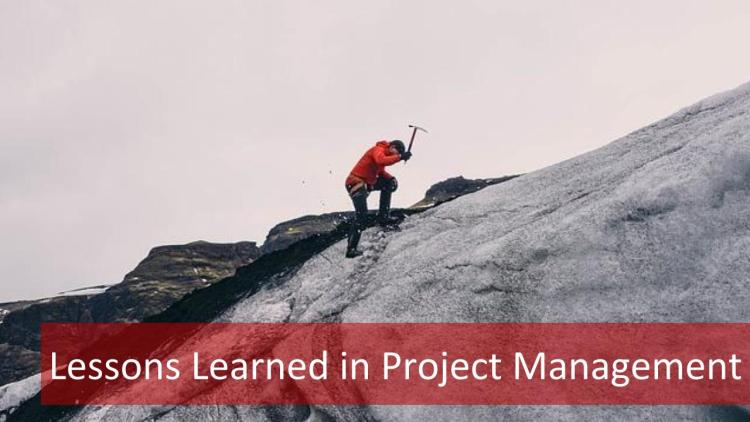 lessons learned project management
