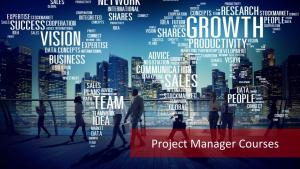 Project Manager Courses: Your Mantra for Career Growth