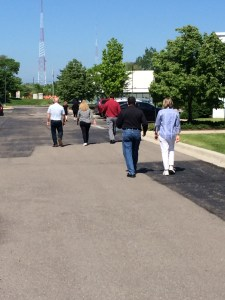 A walking meeting can boost productivity and improve your health.