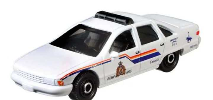 Matchbox MB1198 : 1994 Chevy Caprice Classic Police