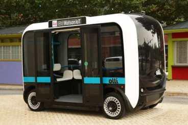 Olli Self Driving Bus