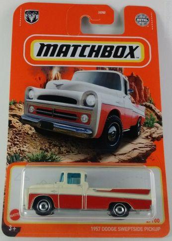 Matchbox MB1228 : 1957 Dodge Sweptside D100 (2021 Basic Range)
